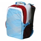 Bergans Schulrucksack XO 25 l Stripes RetroBlue/Red/White