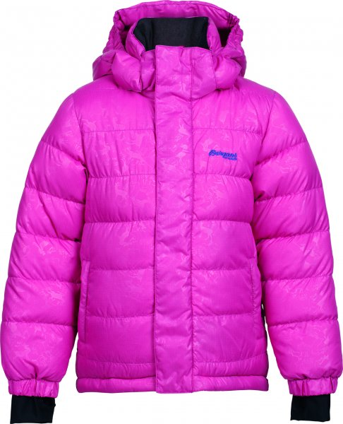 Bergans Down Kids Jacket Kinderdaunenjacke Farbe magenta/purple