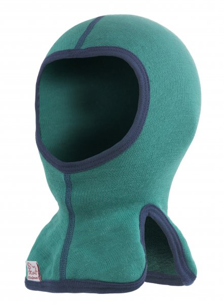 woolpower  Kids Balaclava 200 (Sturmhaube) turtle green