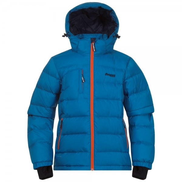 Bergans Down Youth Jacket Daunenjacke für Teenager light sea blue