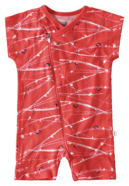Reima Tencel Overall Herne bright red vegan