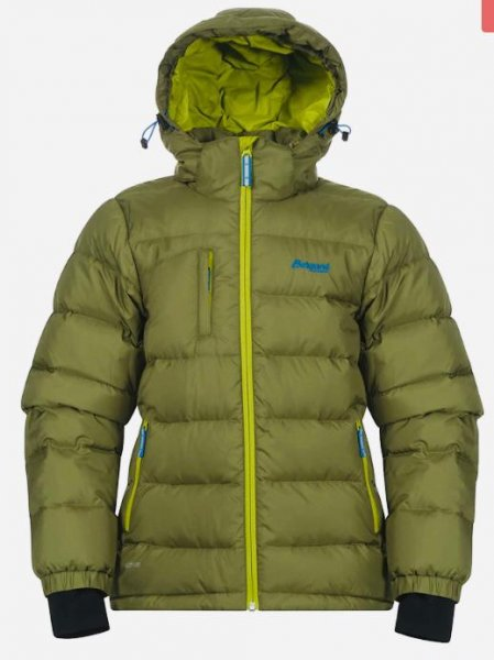 Bergans Down Youth Jacket Daunenjacke für Teenager green tea/lime