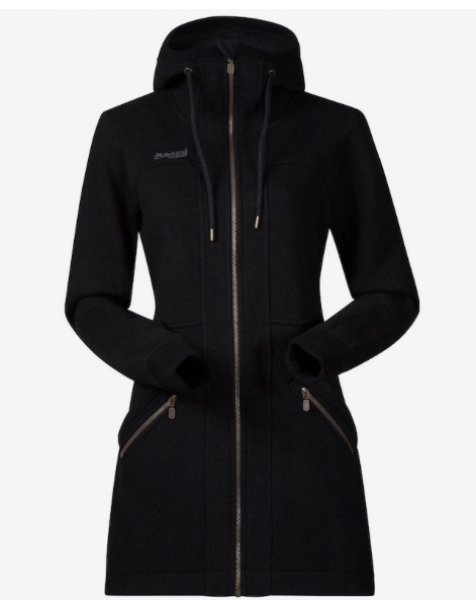 Bergans Myrull Lady Coat Black